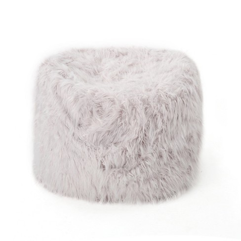 Lachlan Furry Bean Bag - Christopher Knight Home - image 1 of 4