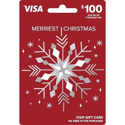 Visa Holiday Gift Card - $100 + $6 Fee
