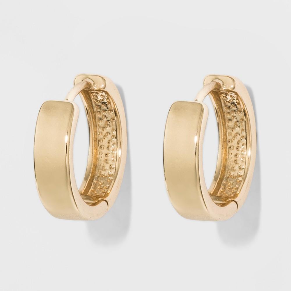 Medium Huggie Earrings A New Day 8482 Gold