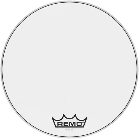 Remo Powermax 2 Ultra White Crimplock Bass Drum Head - image 1 of 2
