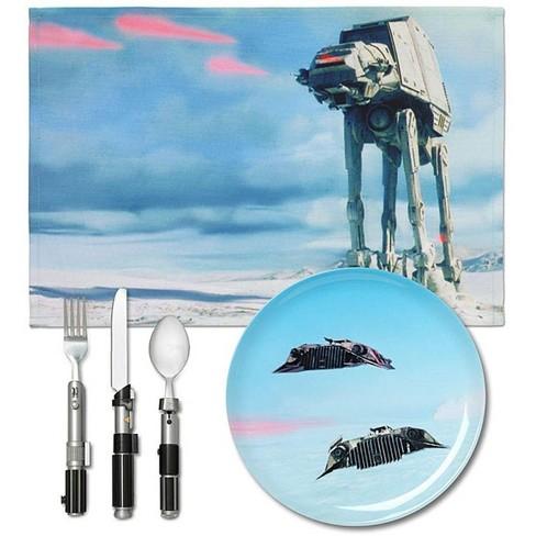 ThinkGeek, Inc. Star Wars Dinner Set: Hoth - image 1 of 1
