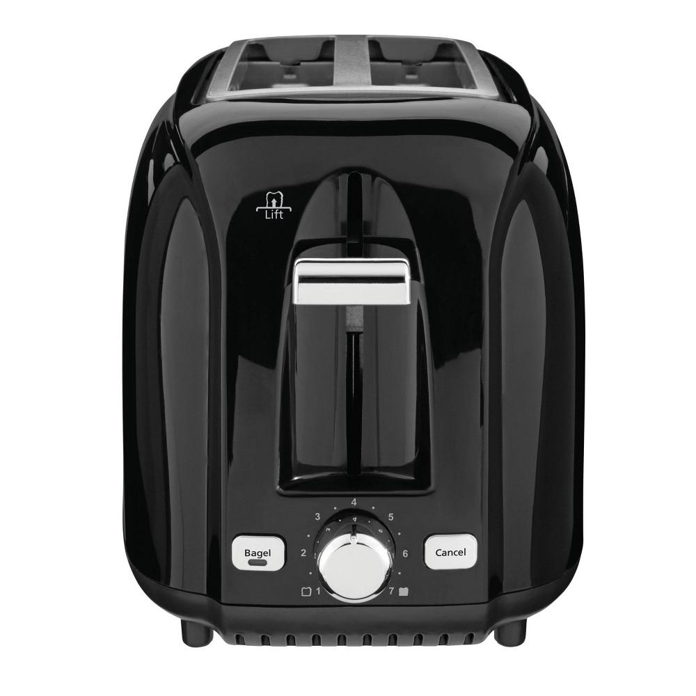 Image of Sunbeam 2-Slice Extra-Wide Slot Toaster - Black TSSBTR2SBK