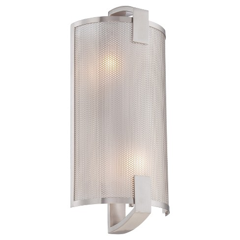 Gilmore Wall Sconce Wall Lights - Polished Steel - Lite Source - image 1 of 2