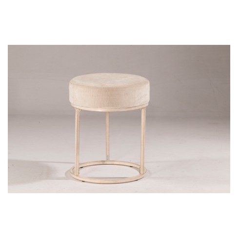 Cool Swanson Backless 17 75 Vanity Stool White Bone Hillsdale Furniture Alphanode Cool Chair Designs And Ideas Alphanodeonline
