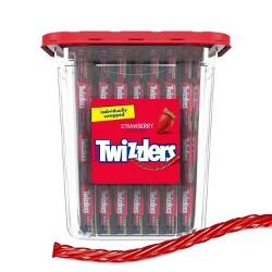 Twizzlers Twists Strawberry Licorice Candy - 105ct