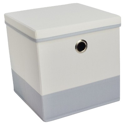 Lidded Cube Storage Bin 11  - Room Essentials™