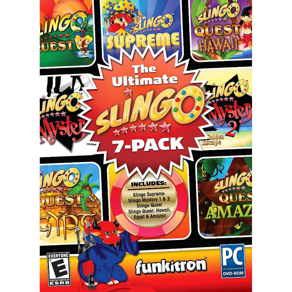 The Ultimate Slingo: 7 pack PC Game