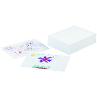 Ecology Recycled Drawing Paper, 9 x 12 Inches, White, 500 Sheets