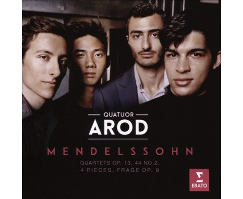 Arod Quartet - Mendelssohn:Op 13/Op 14 No 2/Four Pie (CD) - image 1 of 1