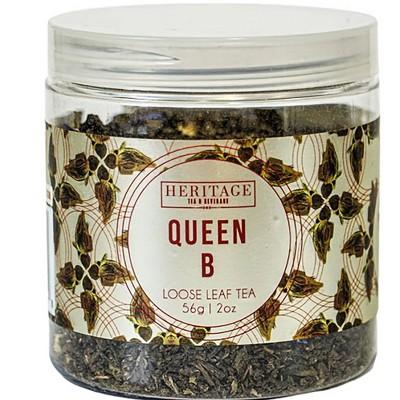 Heritage Tea Queen B Green Loose Leaf Tea - 2oz