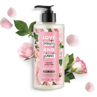 Love Beauty & Planet Murumuru Butter And Rose Oil Hand And Body Lotion - 13.5oz