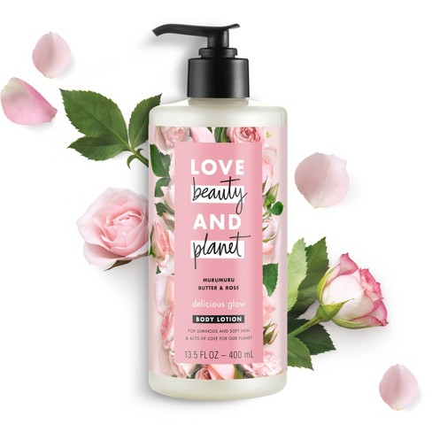 Love Beauty & Planet Murumuru Butter And Rose Oil Hand And Body Lotion - 13.5oz - image 1 of 9