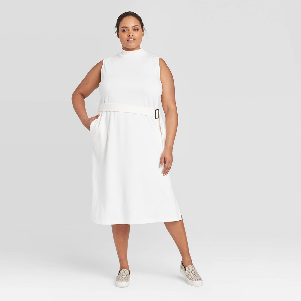 Women's Plus  Sleeveless Dress - Prologue White 1X was $29.99 now $17.99 (40.0% off)