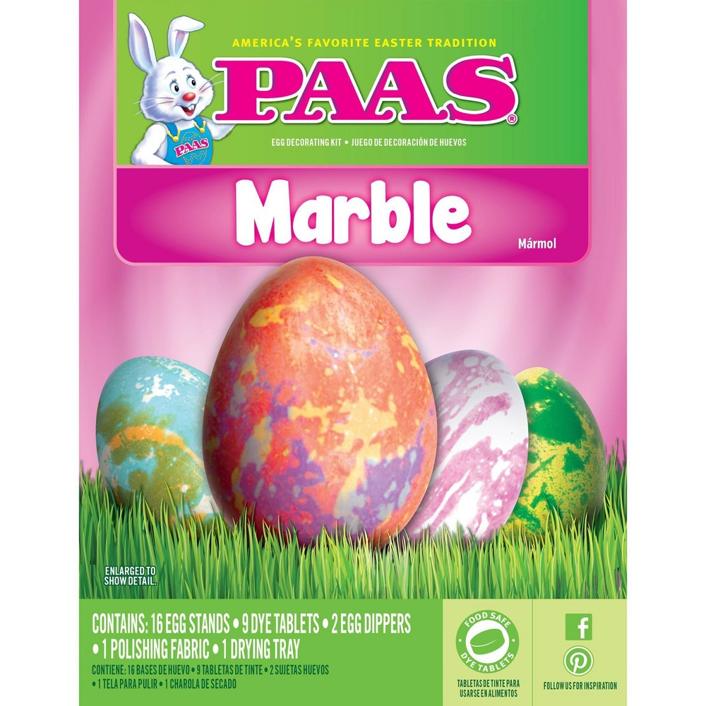 Paas Easter Marble Egg Decorating Kit, Multi-Colored