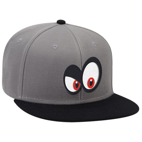 Super Mario: Cappy Angry Eyes - Gray/Black - image 1 of 1