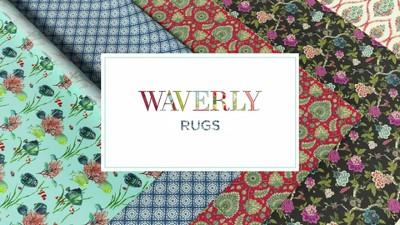 """Waverly Wav27 WIH02 Jubilee Indoor Mat - Multicolor 1'8""""X4'4"""" : Target"""