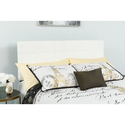 Emma and Oliver Quilted Tufted Upholstered Headboard