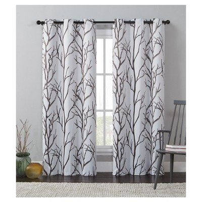 "42""x84"" Kingdom Blackout Curtain Panel Taupe Brown - VCNY Home"