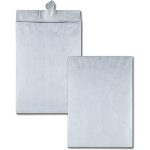 "Quality Park Tyvek Open-End Jumbo Mailers Plain 13""x19"" 25/BX White R5101 - image 1 of 1"
