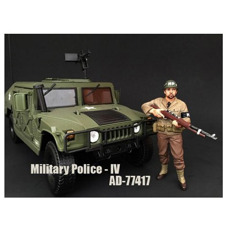 WWII Military Police Figure IV For 1:18 Scale Models by American Diorama - image 1 of 1