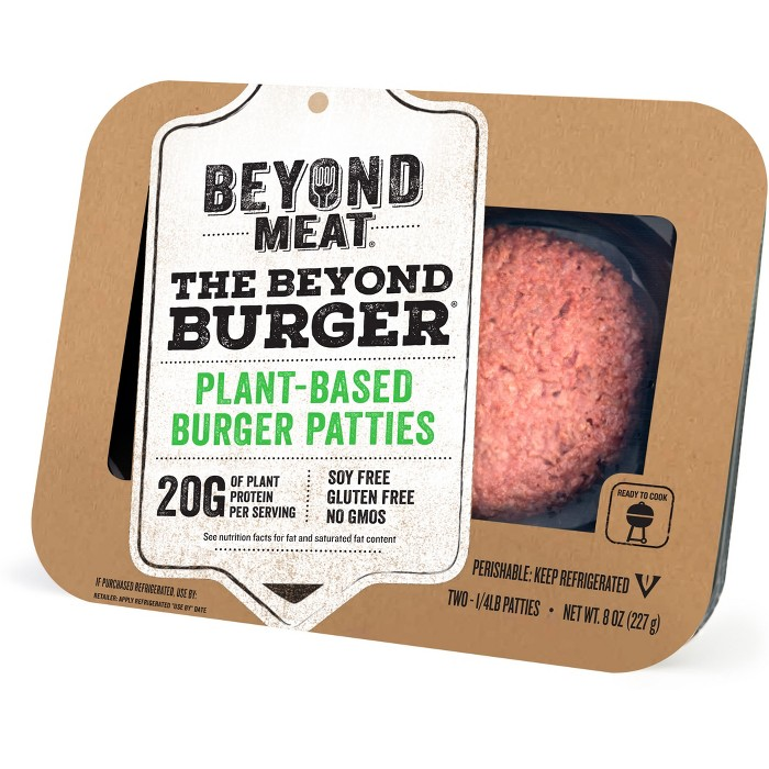 Beyond Meat Burger - 2pk/4oz Patties - image 1 of 1