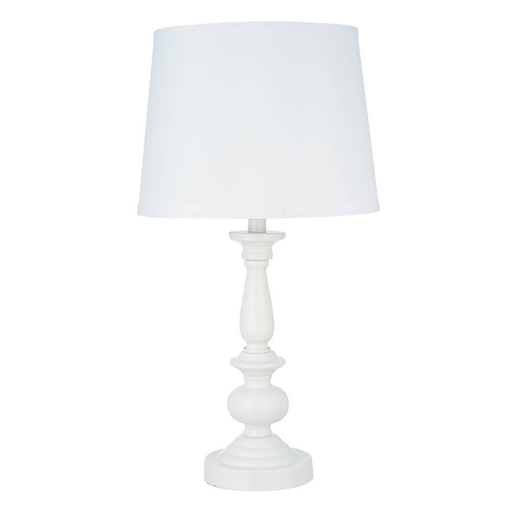Image of 2pk Table Lamp White - Cresswell Lighting