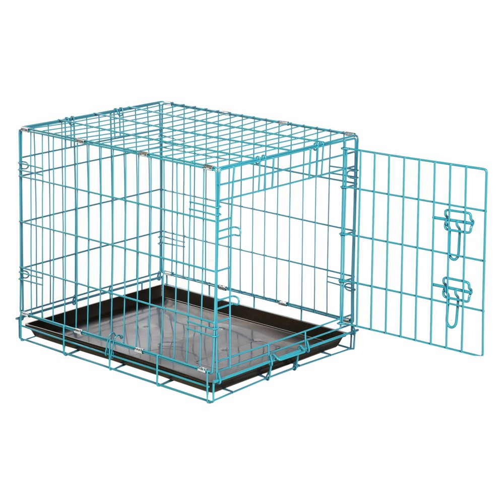 ProSelect Easy Dog Crate - Teal - XS, Blue