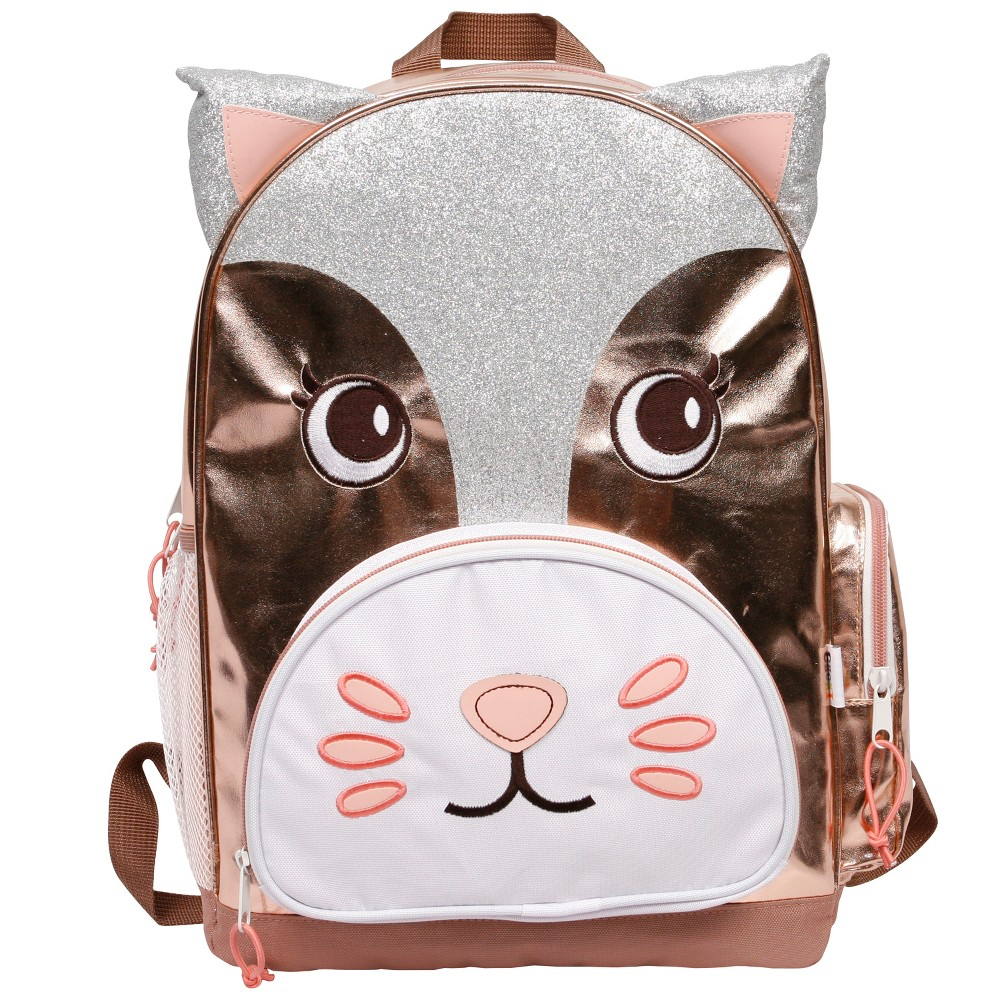 Crckt 16.5 3D Kitty Kids' Backpack, Pink