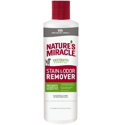 Nature's Miracle Pour Pet Stain and Odor Remover Enzymatic Formula 16 Oz
