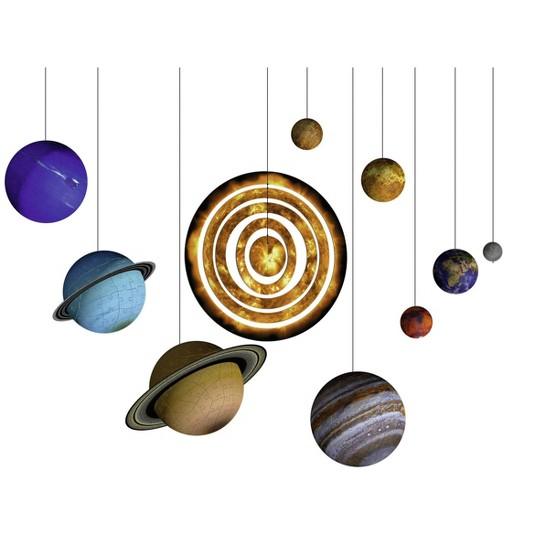 Ravensburger Solar System Set 3D Puzzle 522pc, Adult Unisex image number null