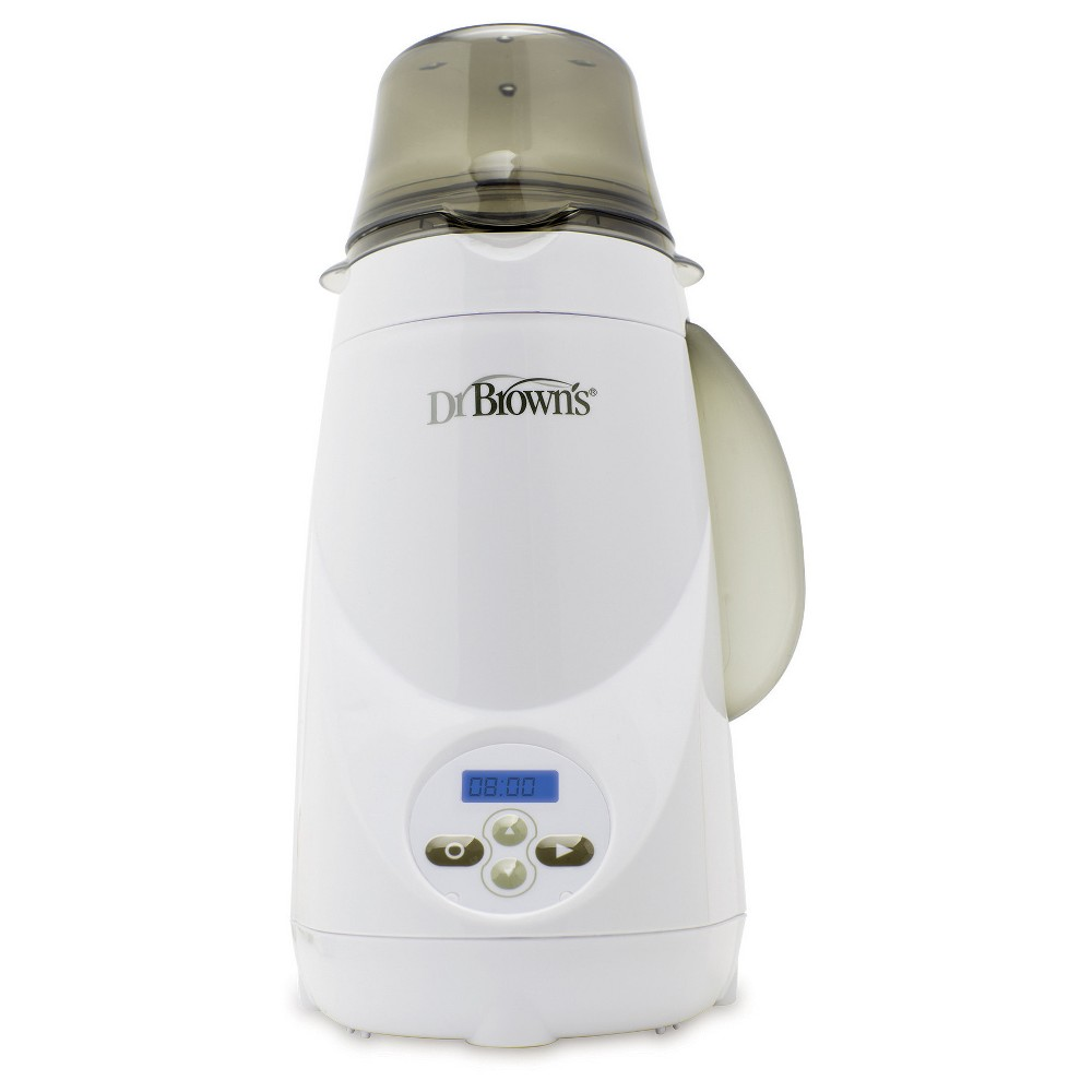 Image of Dr. Brown's Natural Flow Deluxe Bottle Warmer, White