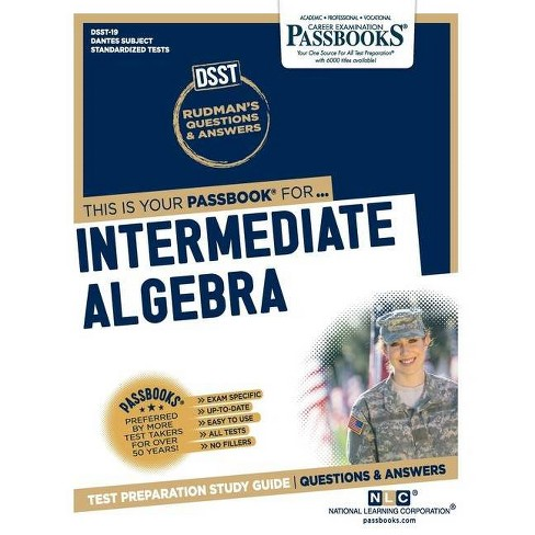 Intermediate Algebra - by  National Learning Corporation (Paperback) - image 1 of 1