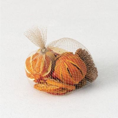 """Sullivans Set of 16 Della Robbia Filler Decorative Filler 2.5""""H, 2.5""""H, 2.5""""H, 3""""H, 1""""H & 2""""H Orange"""