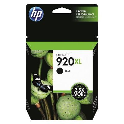 HP 920XL High Yield Single Ink Cartridge - Black (HEWCD975AN)