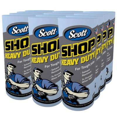 Scott Heavy Duty Shop Paper Towels - 12 Rolls