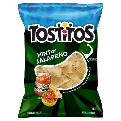 Tortilla & Corn Chips: Tostitos Hint of Jalapeño
