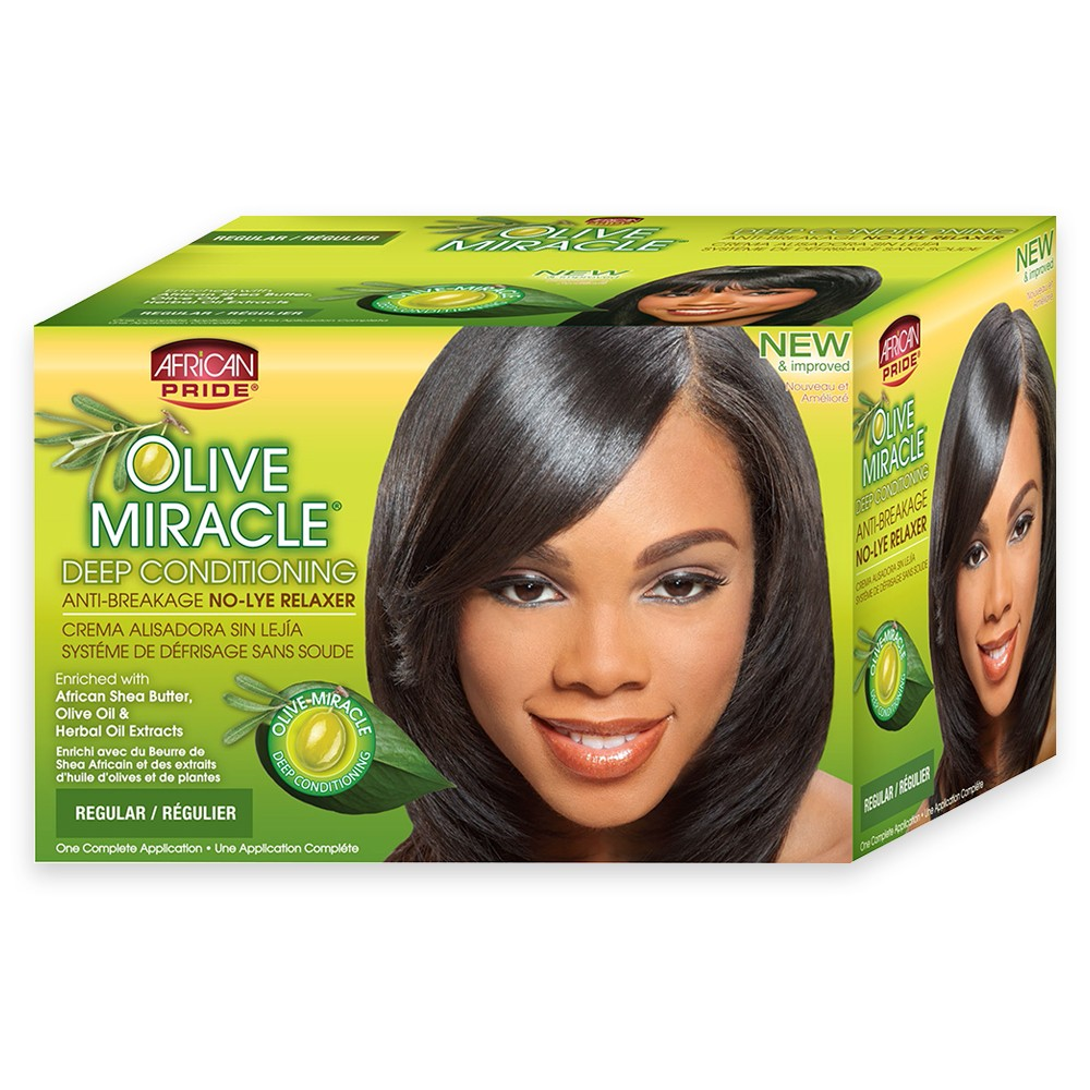 African Pride Olive Miracle Deep Conditioning Hair Shampo...