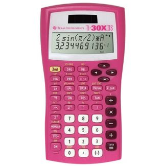 Texas Instruments 30XIIS Scientific Calculator - Pink