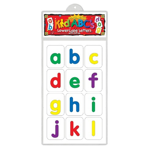 Barker Creek® KidABC's™ Magnets - Lowercase Letters - image 1 of 2