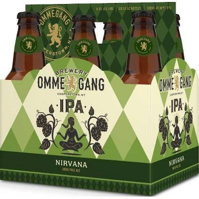Ommegang Nirvana IPA Beer - 6pk/12 fl oz Bottles