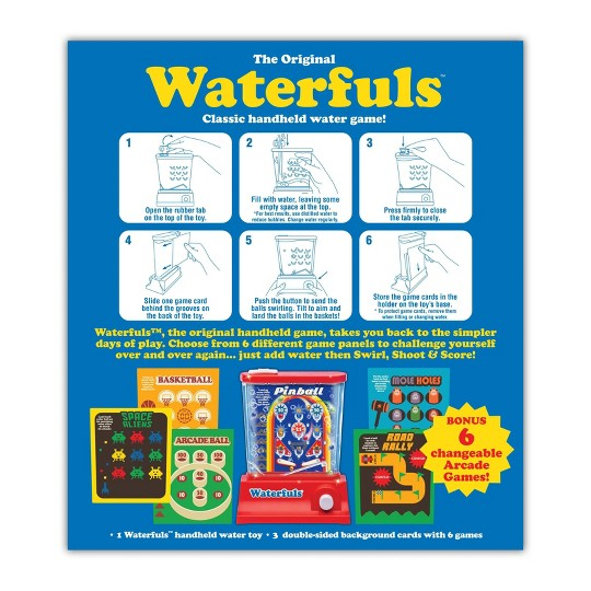 Waterfuls Board Game, tabletop arcade games image number null