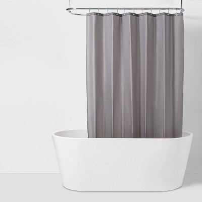 Fabric Medium Weight Shower Liner Gray - Made By Design™