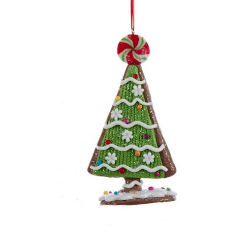 kurt s adler 5 tree with candy and peppermint topper christmas ornament green white target. Black Bedroom Furniture Sets. Home Design Ideas