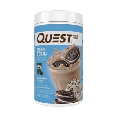 Quest Protein Powder - Cookies & Cream - 25.6oz