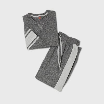 Hanes Men's Long Sleeve Pajama Set