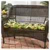 Pattern Outdoor Swing and Bench Cushion - Kensington Garden - image 2 of 4