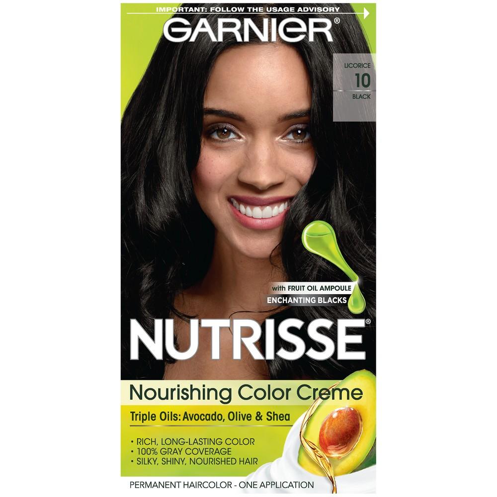 Garnier Nutrisse Nourishing Color Creme 10 Black