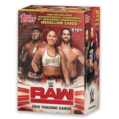 WWE Topps 2019 WWW Raw Wrestling Trading Card Blaster Box - image 1 of 4