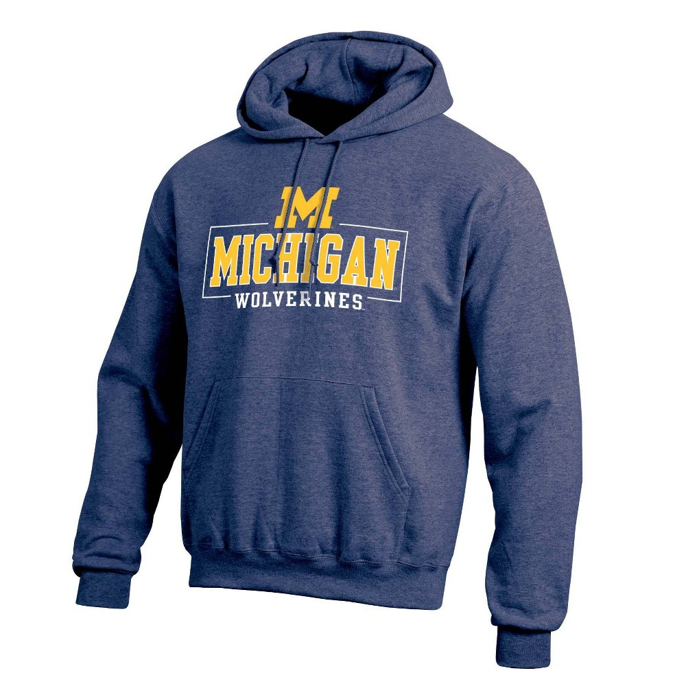 Ncaa Michigan Wolverines Men 39 S Cotton Hoodie L
