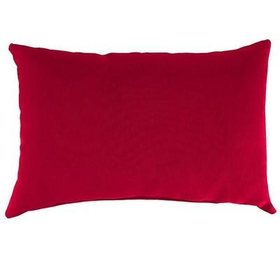 """Polyester Classic Lumbar Pillow, 19"""" x 12"""" x 5½"""""""